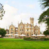photo of afternoon tea at oakley court restaurant