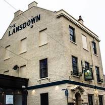 photo of the lansdown restaurant