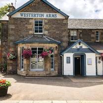 photo of the westerton arms restaurant