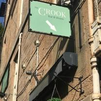 photo of the crook bar & bistro restaurant