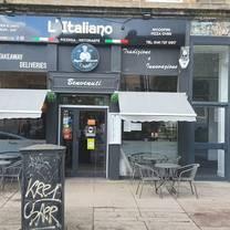 photo of l'italiano pizzeria restaurant