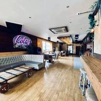 photo of lola's cocktail bar restaurant