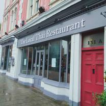 photo of the local thai restaurant
