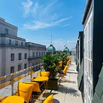 photo of champagne terrace at great scotland yard hotel restaurant