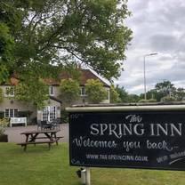 photo of the spring inn restaurant