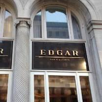 photo of edgar bar & kitchen at the mayflower hotel restaurant