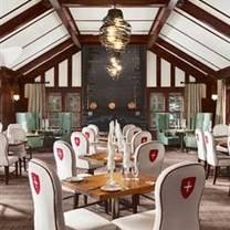 photo of waldhaus restaurant - fairmont banff springs hotel restaurant