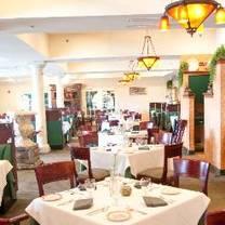 photo of joseph's restaurant at renault winery restaurant