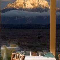 photo of mural room - grand teton lodging company restaurant