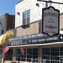 photo of dawson's on main restaurant