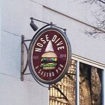 photo of nose dive restaurant