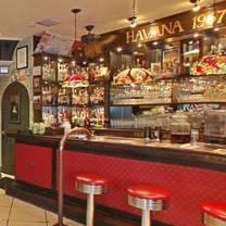 photo of havana 1957 - espanola way restaurant