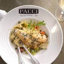 photo of pacci italian kitchen & bar restaurant