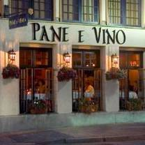 photo of pane e vino providence restaurant