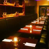 photo of bleu sushi restaurant