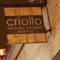 photo of criollo latin kitchen restaurant