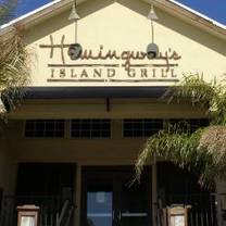 photo of hemingway's island grill - pensacola beach restaurant