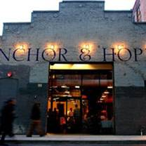 foto von anchor and hope restaurant