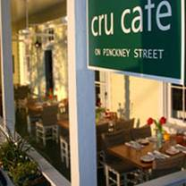 photo of cru cafe restaurant