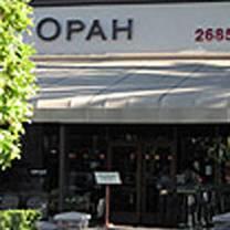 photo of opah restaurant & bar @ town center aliso viejo restaurant