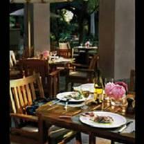 photo of the terrace at the langham, pasadena restaurant