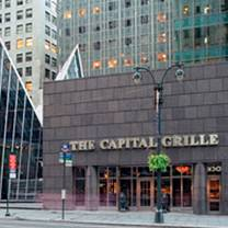 photo of the capital grille - ny – chrysler center restaurant