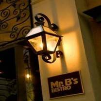 photo of mr. b's bistro restaurant