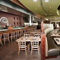 photo of sushi zushi of the domain restaurant