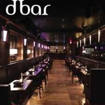 photo of dbar restaurant