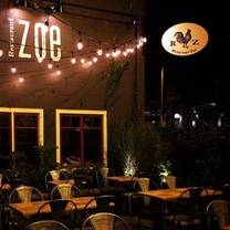 photo of restaurant zoe restaurant