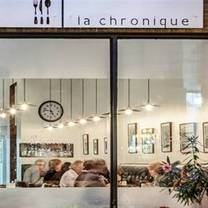 photo of la chronique restaurant