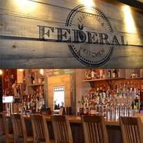 photo of federal taphouse and kitchen restaurant