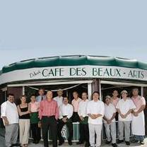 photo of café des beaux-arts restaurant