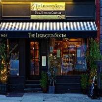 photo of the lexington social restaurant