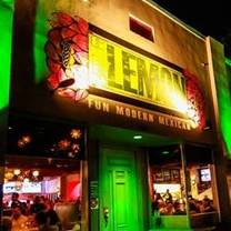 photo of green lemon restaurant