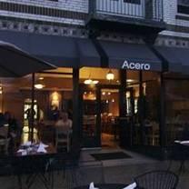 photo of acero restaurant