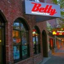 photo of betty restaurant