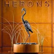 photo of herons restaurant