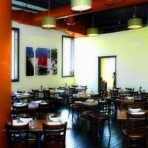photo of terracotta red restaurant