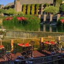 photo of the flying v at loews ventana canyon resort restaurant