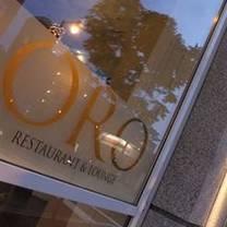photo of oro restaurant