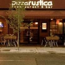 photo of pizza rustica restaurant & bar restaurant