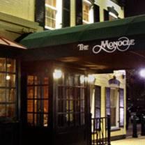 photo of the monocle restaurant