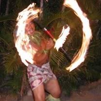 photo of myths of maui luau at the royal lahaina resort restaurant