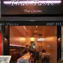photo of thai taste restaurant restaurant