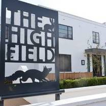 photo of the high field restaurant