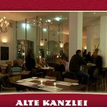 foto von alte kanzlei stuttgart restaurant