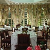 photo of the oak room restaurant restaurant