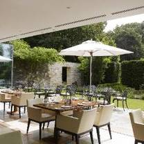 photo of the brasserie at lucknam park restaurant
