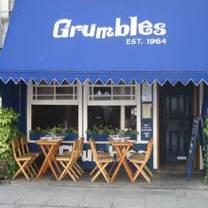 photo of grumbles restaurant